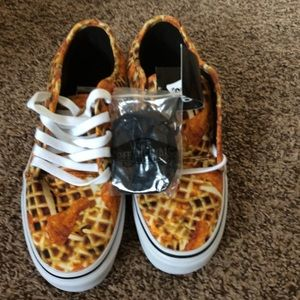 Brand New Chicken and Waffles Pro Vans